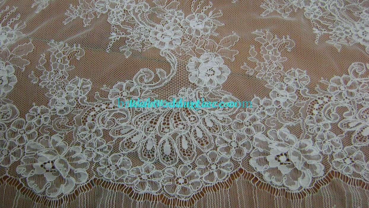 3 3 yards eyelash french lace fabric upscale bridal