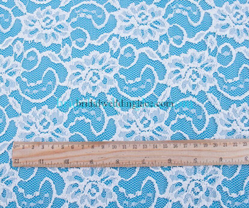 Bridal ivory stretch lace slf1731406 bridal wedding lace for White lace fabric for wedding dresses