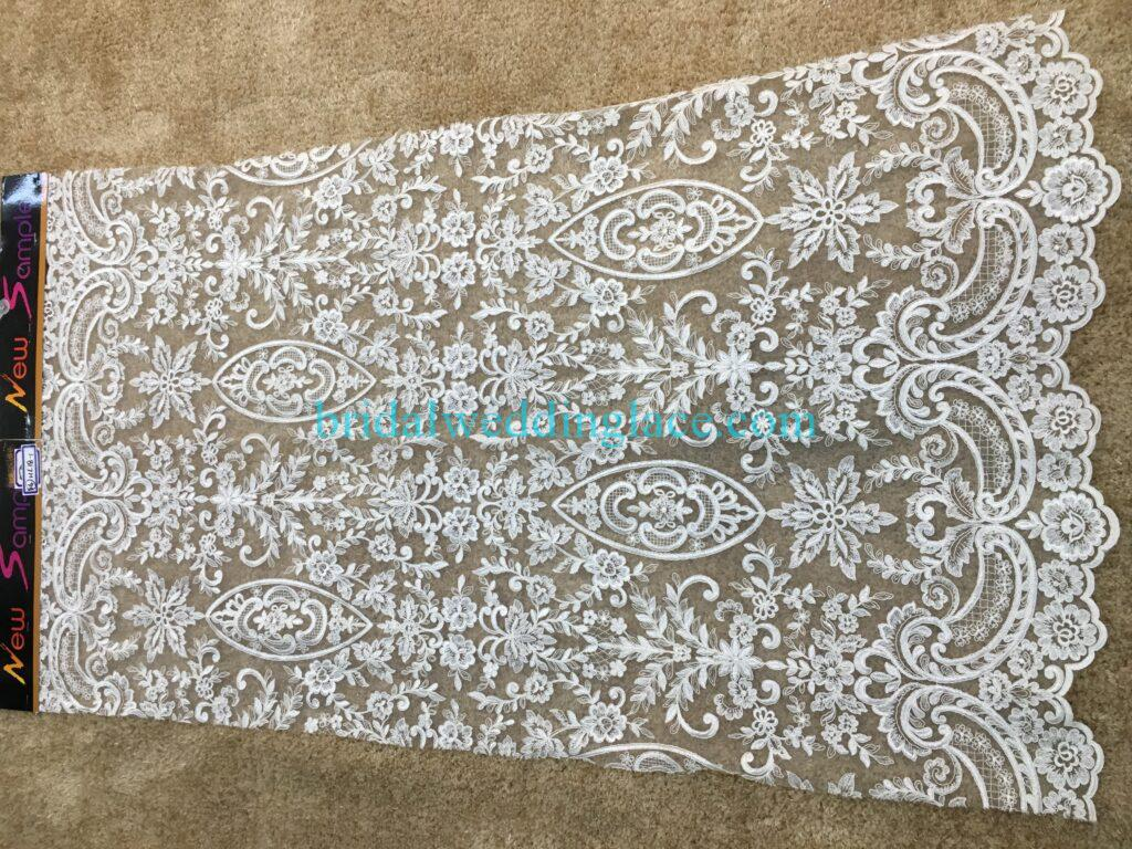 #20083135 Quality Embroidery Corded Bridal Lace Fabrics