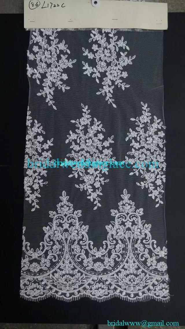 where to buy tulle fabric quality embroidered amp corded bridal wedding lace fabric 1722
